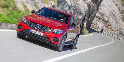2017 Mercedes-Benz GLC Coupe:: six variants for Australia, AMG 43 and 63 confirmed