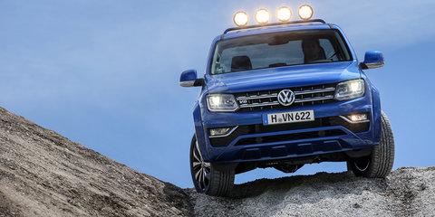 2017 Volkswagen Amarok V6: four-wheel disc brake upgrade, but no rear airbags