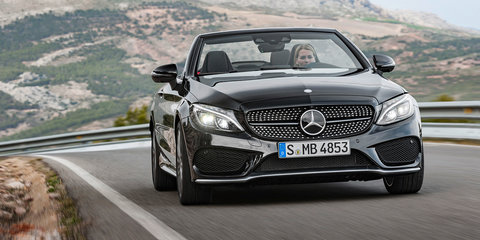 2017 Mercedes-Benz C-Class Cabriolet: Australian line-up confirmed