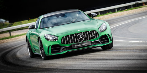 Mercedes-AMG GT R revealed ahead of Australian debut