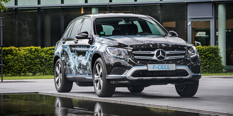 2017 Mercedes-Benz GLC F-Cell concept: hydrogen SUV due next year