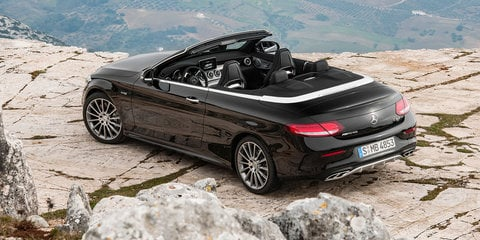 2017 Mercedes-Benz C-Class Cabriolet:: Australian line-up confirmed