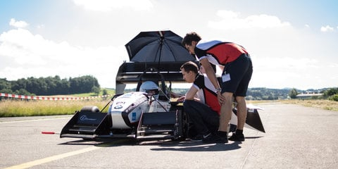 Open-wheel EV sets new 1.5-second 0-100km/h world record time