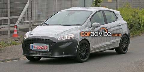 2017 Ford Fiesta ST spied at the Nurburgring
