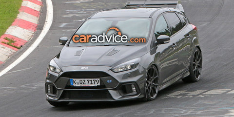 Ford Focus RS500 hero hatch on the rocks - report
