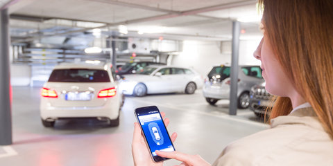 Bosch reveals Home Zone remote-parking system