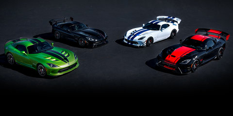 Dodge Viper production to end in 2017 with five heritage editions