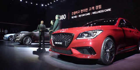 2017 Genesis G80 unveiled, due here next year: 3.3 turbo Sport model revealed