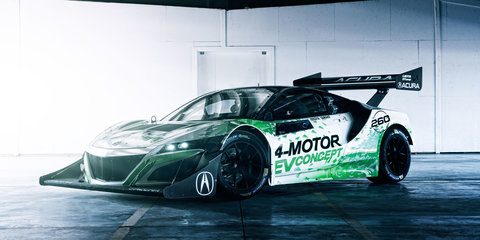 Honda NSX-based EV Concept to race in 2016 Pikes Peak Hill Climb