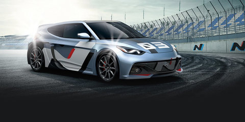 Hyundai RM16 N racing concept gives Veloster a new look