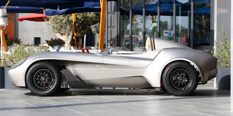Jannarelly Design-1 retro roadster unveiled