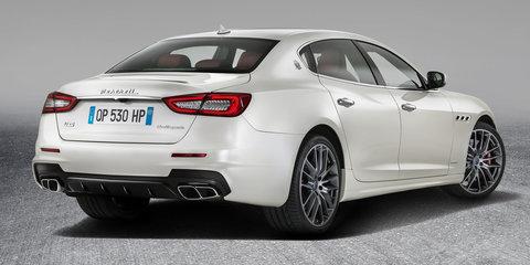 2017 Maserati Quattroporte pricing and specs: Tweaked looks and more kit for primo Italian sedan