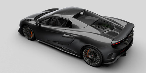 McLaren 675LT Spider gets Special Operations treatment with carbon-fibre overhaul