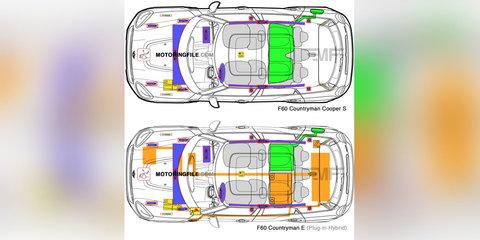 2017 Mini Countryman E:: plug-in hybrid SUV details leaked