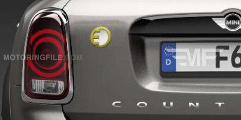 2017 Mini Countryman E: plug-in hybrid SUV details leaked