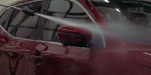 Nissan puts a Qashqai through the dishwasher - video