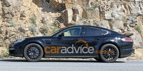 Possible Porsche Panamera coupe spied