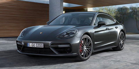 2017 Porsche Panamera Turbo sets Nurburgring record - video