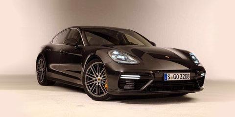 2017 Porsche Panamera Turbo leaked ahead of debut next week