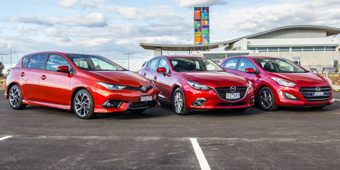 Hyundai i30 sales overtake Toyota Corolla and Mazda 3