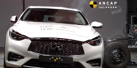 2016 Infiniti Q30 achieves five-star ANCAP safety rating