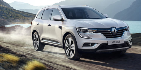 2016 Renault Koleos pricing and specifications