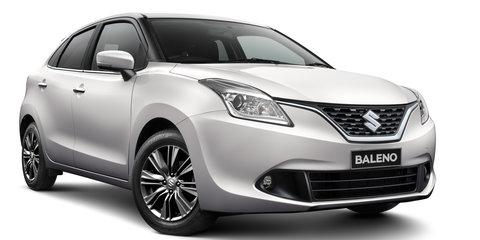 2016 Suzuki Baleno pricing and specifications