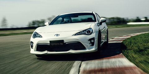 2017 Toyota 86: updated and uprated sports car confirmed for fourth-quarter local launch