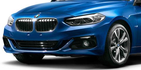 2017 BMW 1 Series sedan revealed