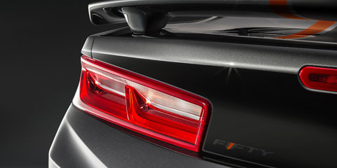 2017 Chevrolet Camaro 50th Anniversary Edition revealed