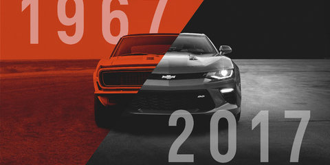 2017 Chevrolet Camaro 50th Anniversary Edition revealed