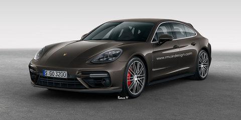 2017 Porsche Panamera Sport Turismo rendered