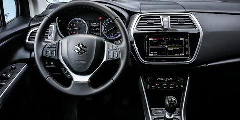 2017 Suzuki S-Cross facelift revealed ahead of Paris debut