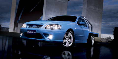 Ford Falcon Ute production ended today