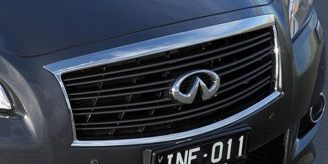 2012-2013 Infiniti M35 hybrid sedan recalled