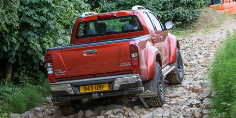 Isuzu D-MAX gets pumped up with help from Iceland's Arctic Trucks