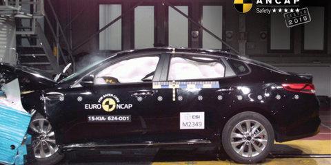 Suzuki Vitara and Kia Optima get five-star ANCAP ratings