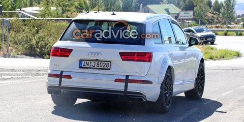 2018 Audi Q8 development mule spied