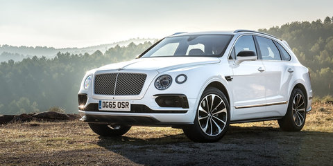 Bentley Bentayga v Bentley EXP 9F Concept: styling face-off