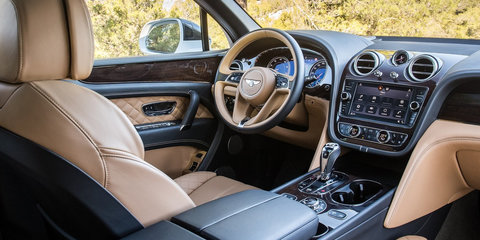 Bentley Bentayga recalled for seat and instrument fix:: 17 vehicles affected