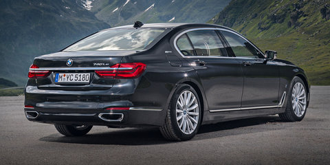 2017 BMW 740e iPerformance pricing announced: S500e rival here from late 2016