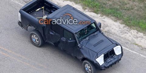 2018 Jeep Wrangler ute spied