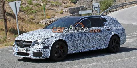 2018 Mercedes-AMG E63 Black Series wagon spied