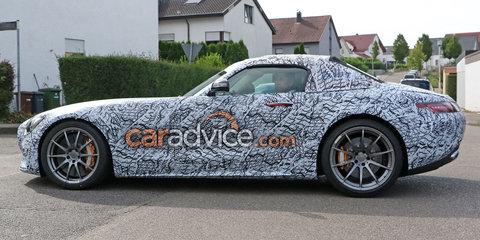 2017 Mercedes-AMG GT C Roadster spied