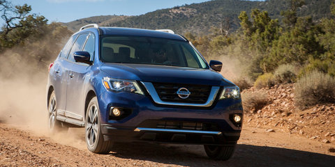 2017 Nissan Pathfinder facelift unveiled, coming to Australia first half of 2017