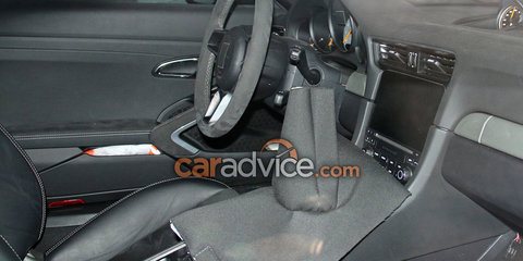 2017 Porsche 911 GT3 spied with manual transmission