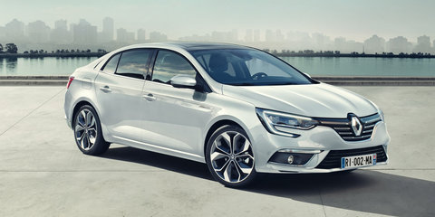 2017 Renault Megane sedan revealed, Australian launch confirmed