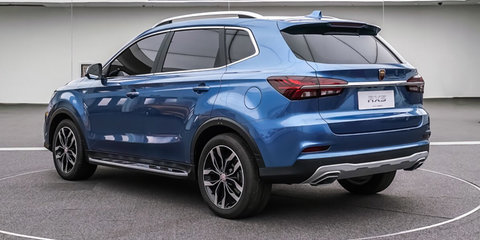 Chinese company creates 'world's first smartcar' with Roewe RX5 SUV