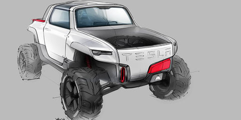 2015 Tesla 'Allterrain' speculative rendering could hint at confirmed ute