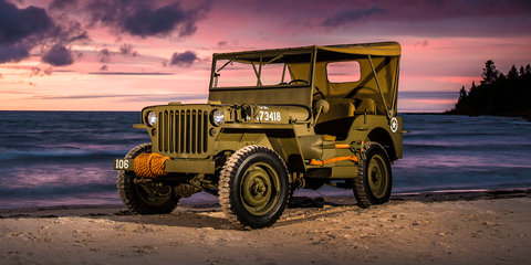Jeep Wrangler Salute concept: brand celebrates Willys MB's 75th birthday
